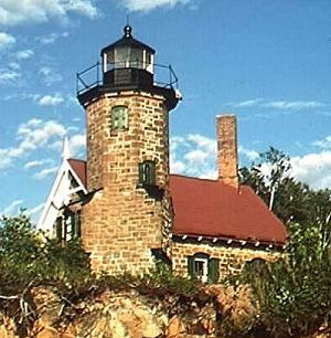 Sand Island Light Wisconsin  Wikipedia