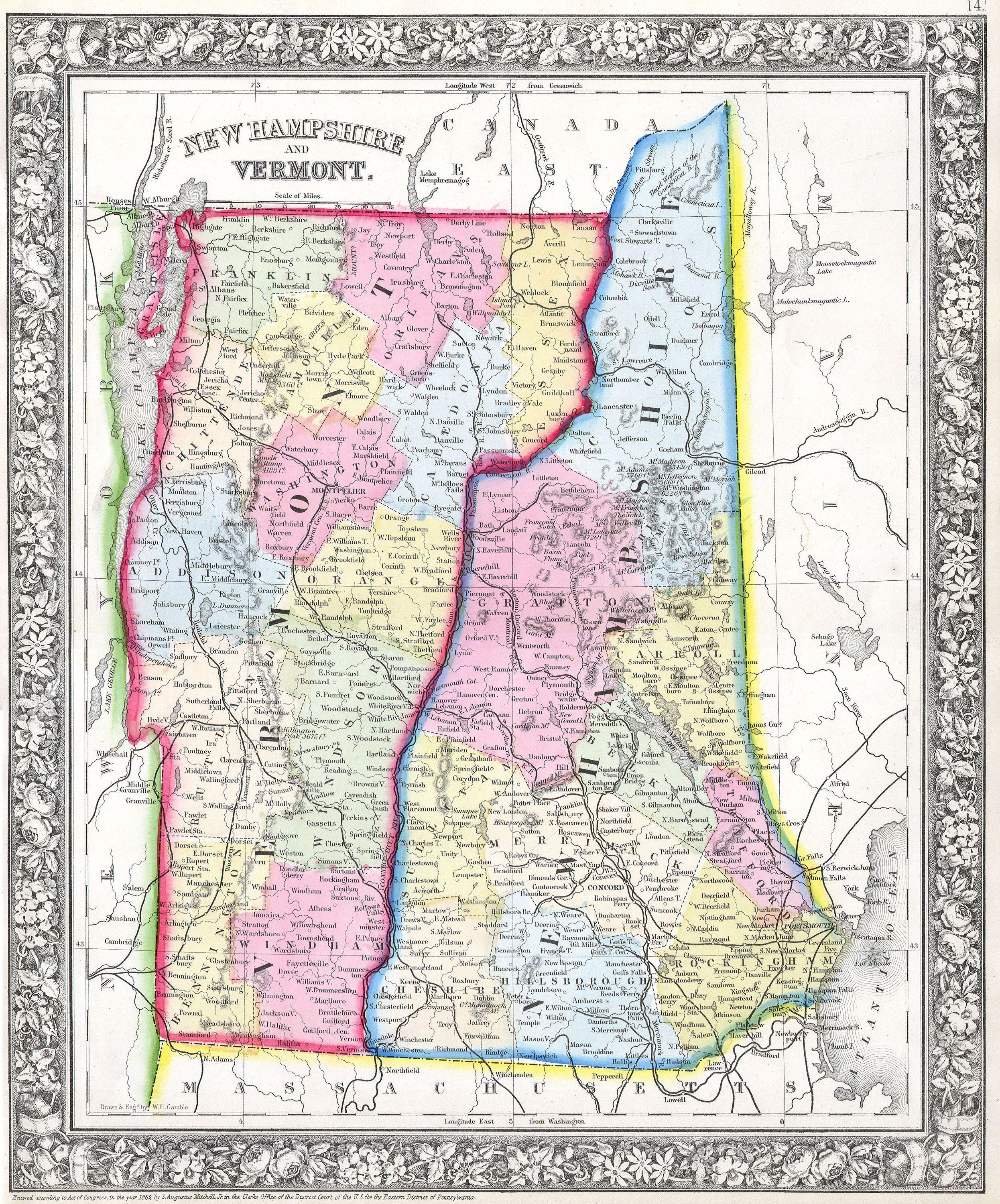 File Mitchell S Map Of Vermont And New Hampshire