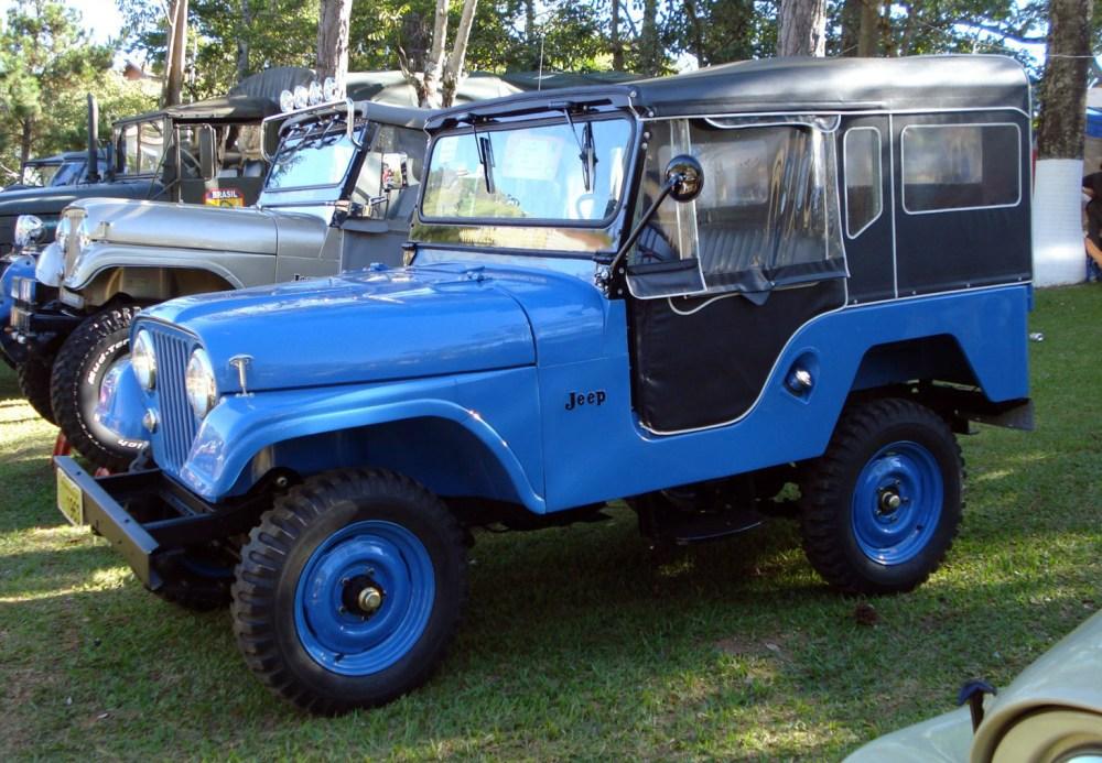 medium resolution of 1963 brazilian built cj 5