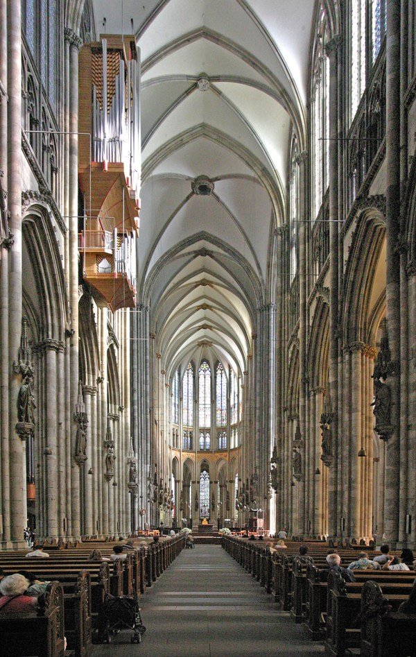 Cologne Cathedral Germany Inside