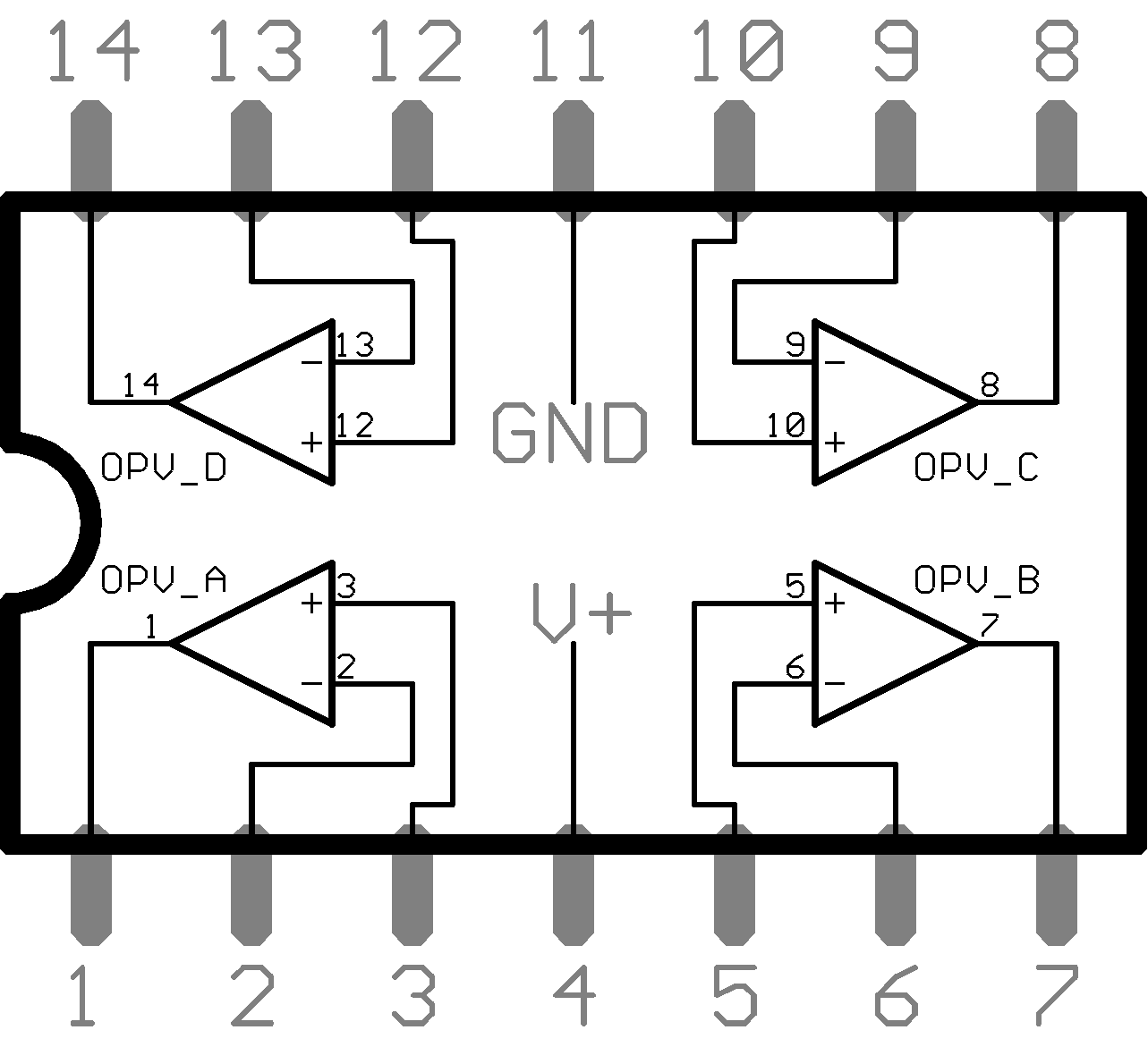 File Lm324n Operational Amplifier
