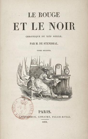 """Stendhal : biographie de l'auteur du roman """"Le rouge et le"""