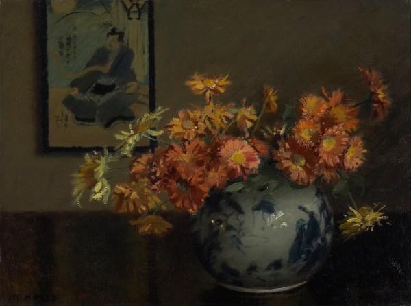 File Mary Hiester Reid - Chrysanthemums Japanese