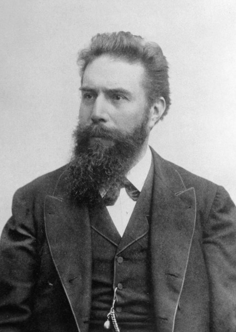 Dr. Roentgen who invented the x-rays