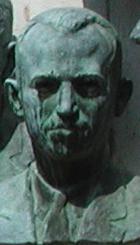 Jonas Salk, American medical scientist (bust i...