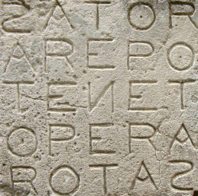Sator Square at Oppède.jpg