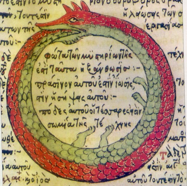 The ouroboros, a serpent without beginning or end