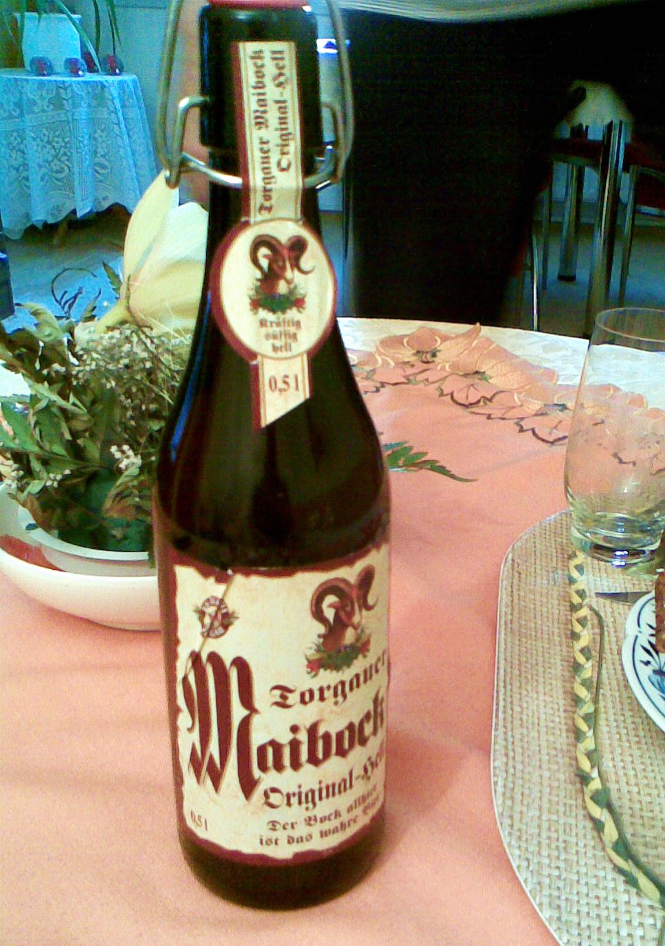 English: A Bottle of Beer: Torgauer Maibock fr...