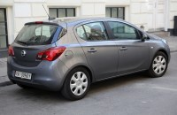 File:2016 Opel Corsa EcoFlex 5-door (CH), rear right.jpg ...