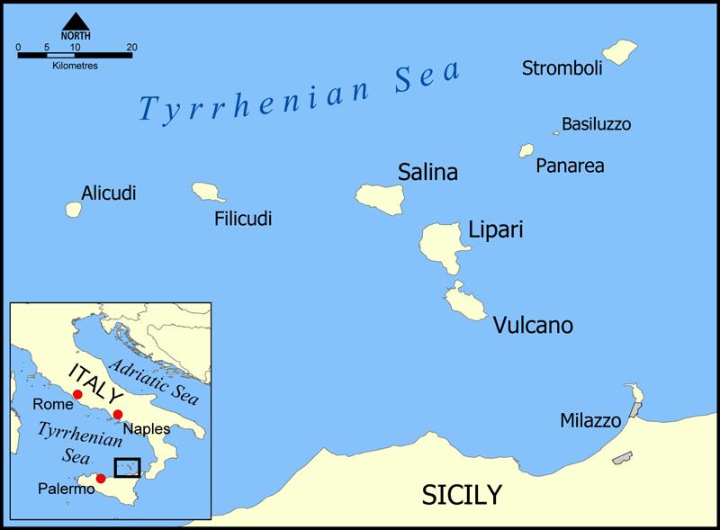 Islas de Vulcano