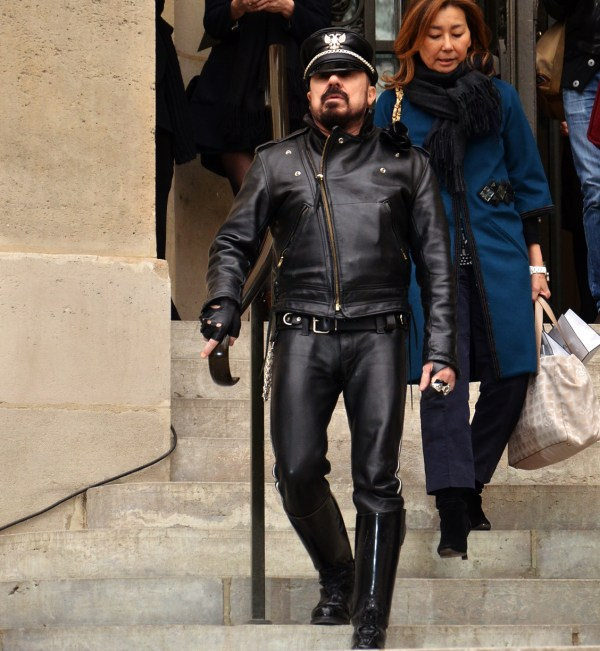Leather Architect Peter Marino