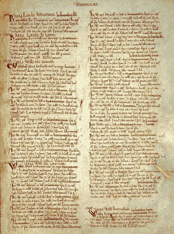 Domesday Survey