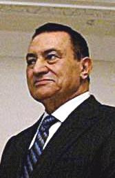 Português: O presidente do Egito Hosni Mubarak.