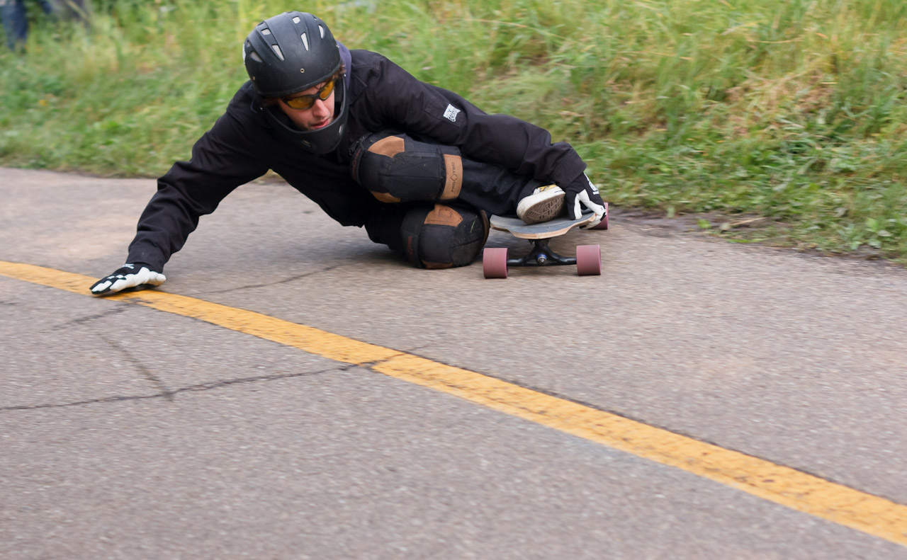 How to stop your longboard