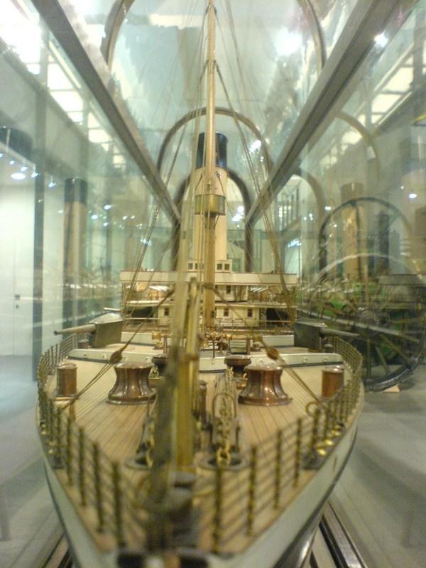 File Model Boat - Science Museum London Wikimedia Commons