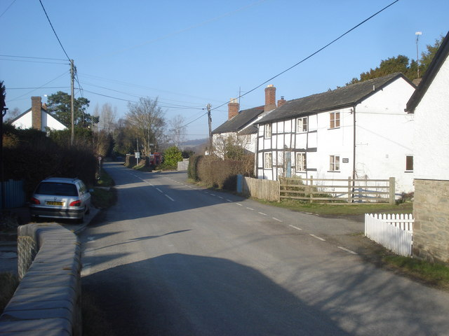 Village street at Lingen