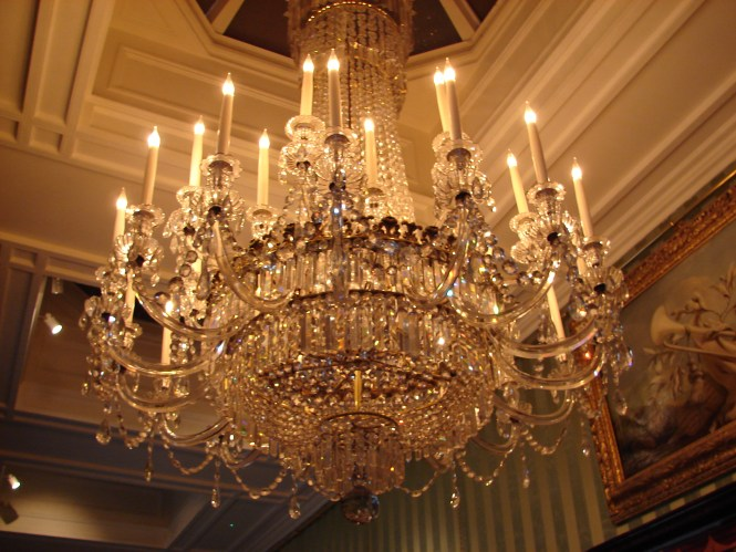 File Chandelier At Chatsworth House Jpg