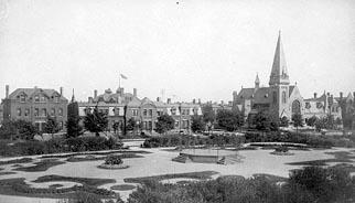 Pullman i slutet av 1800-talet