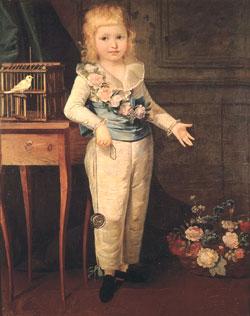 Louis Charles by Madame Vigée-Lebrun