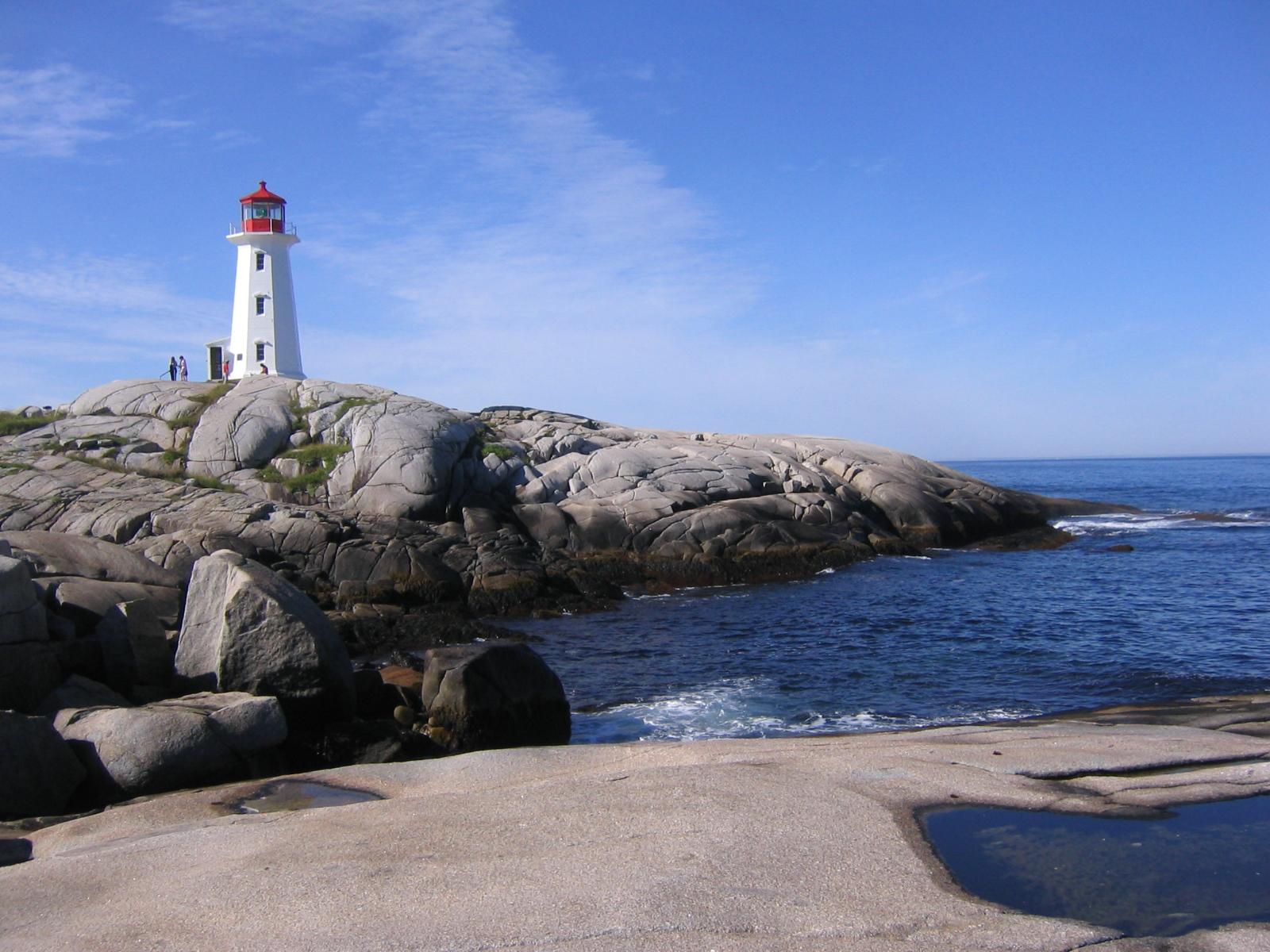 Lighthouse of Peggys Cove, Nova Scotia