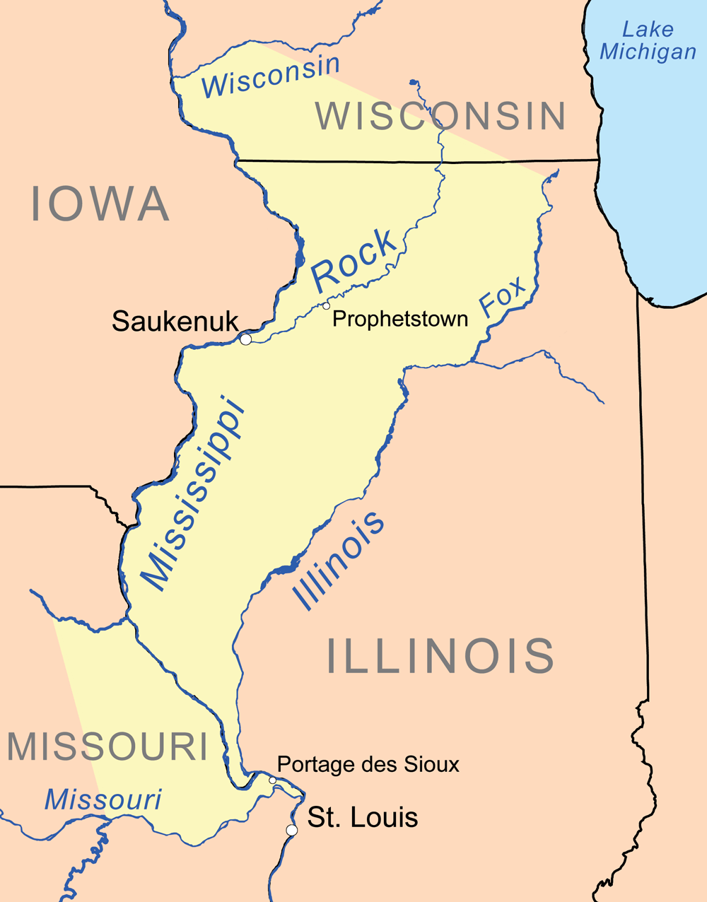 Missouri Indian Tribe Map : missouri, indian, tribe, Treaty, Louis, (1804), Wikipedia