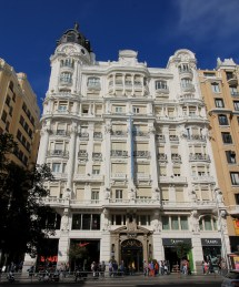 Hotel Atlantico Gran Via Madrid
