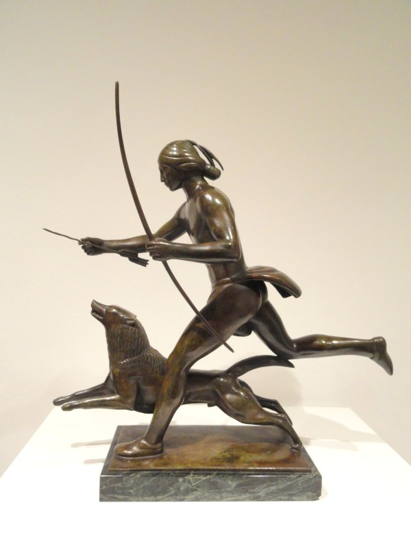 File Indian Running With Dog Paul Manship 1922