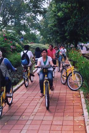 University of Indonesia Bicycle, Depok