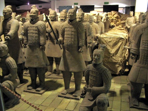 Ancient China Terracotta Army