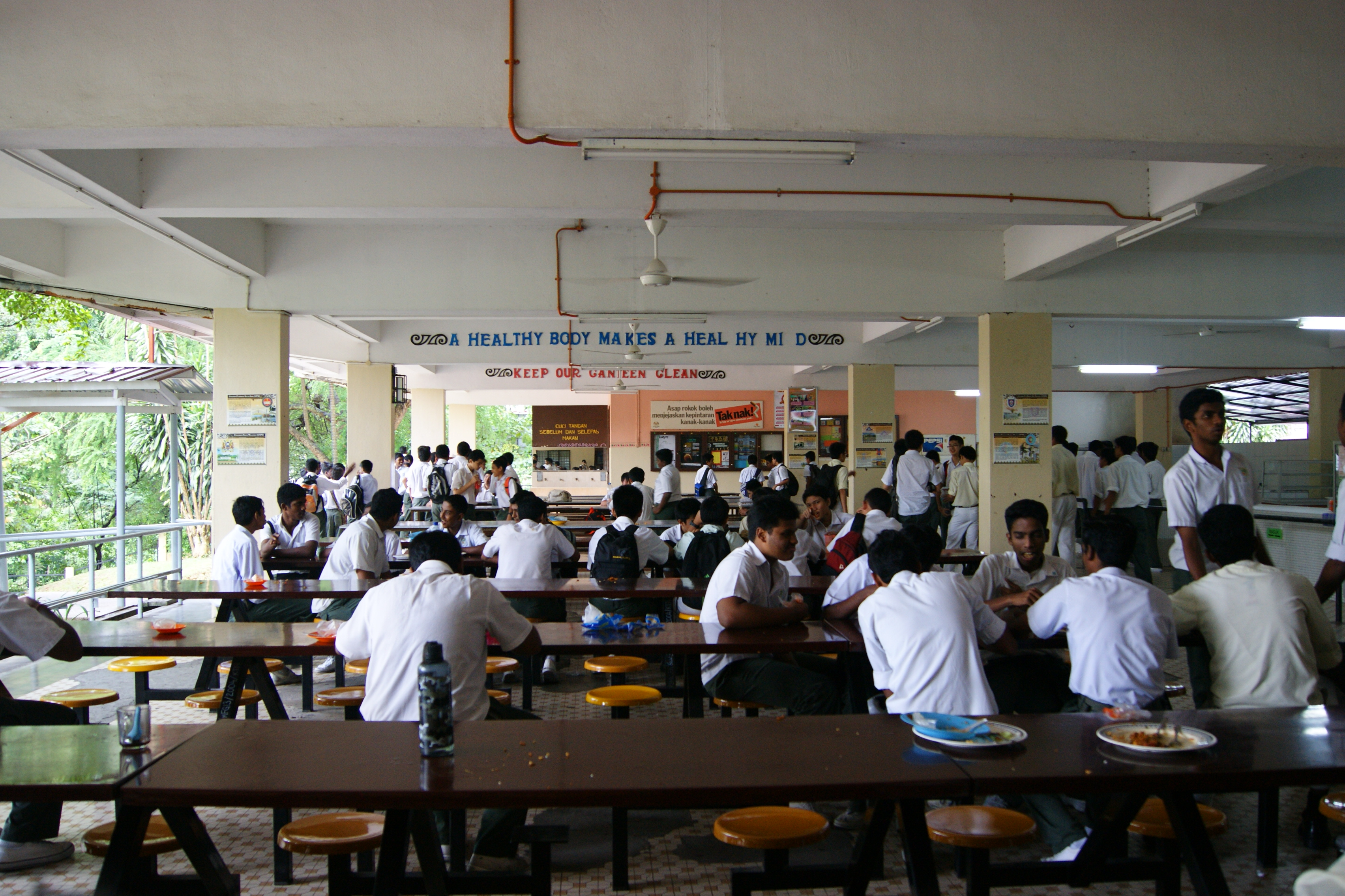 English: Canteen - Last days of school