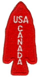 English: Shoulder sleeve patch of the 1st Spec...