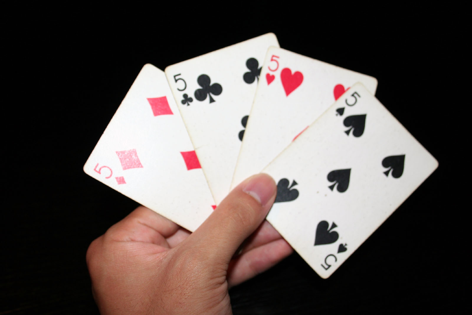 """""""5"""" playing cards"""