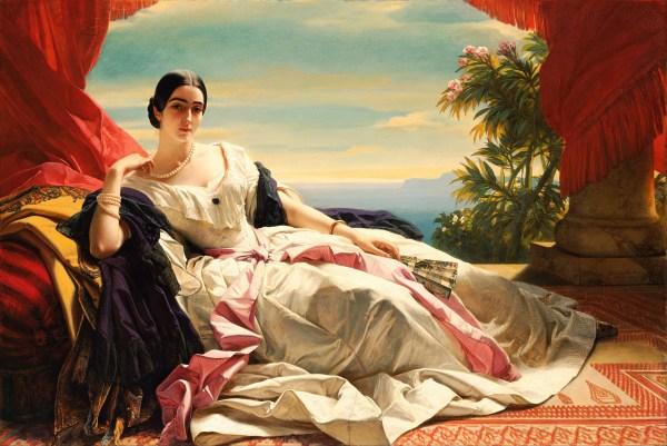 File Franz Xaver Winterhalter - Portrait Of Leonilla