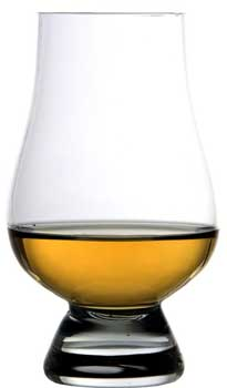 English: Photo of a Glencairn Whisky Glass, us...
