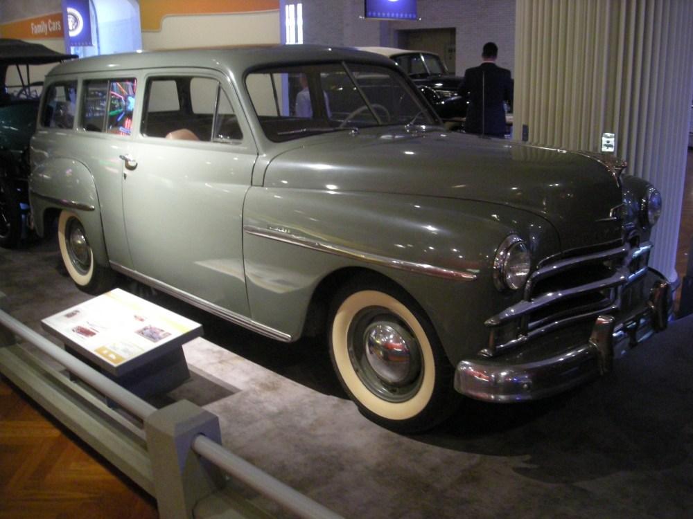 medium resolution of 1950 plymouth de luxe suburban