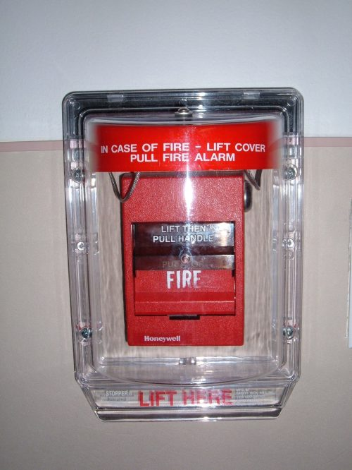 small resolution of file honeywell fire alarm with plastic shield jpg