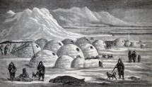 Inuit Homes as in Igloos