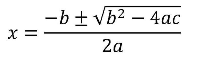 Quadratic Formula   Jacke Wilson