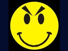 English: smile