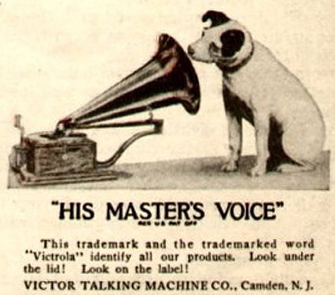 English: Victor Talking Machine Company logo