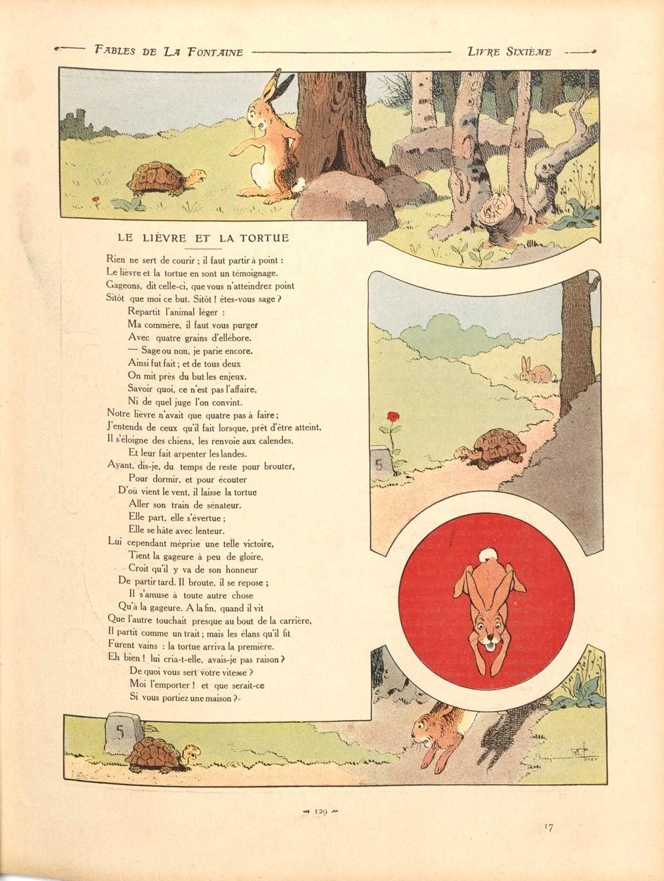 Le Livre Et La Tortue : livre, tortue, File:Fables-03-lievre&tortue.jpg, Wikimedia, Commons