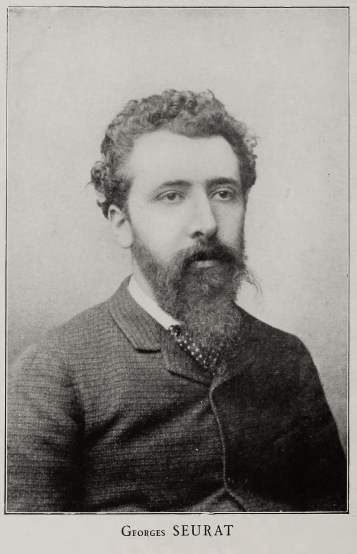 Georges Seurat (1859-1891), photo