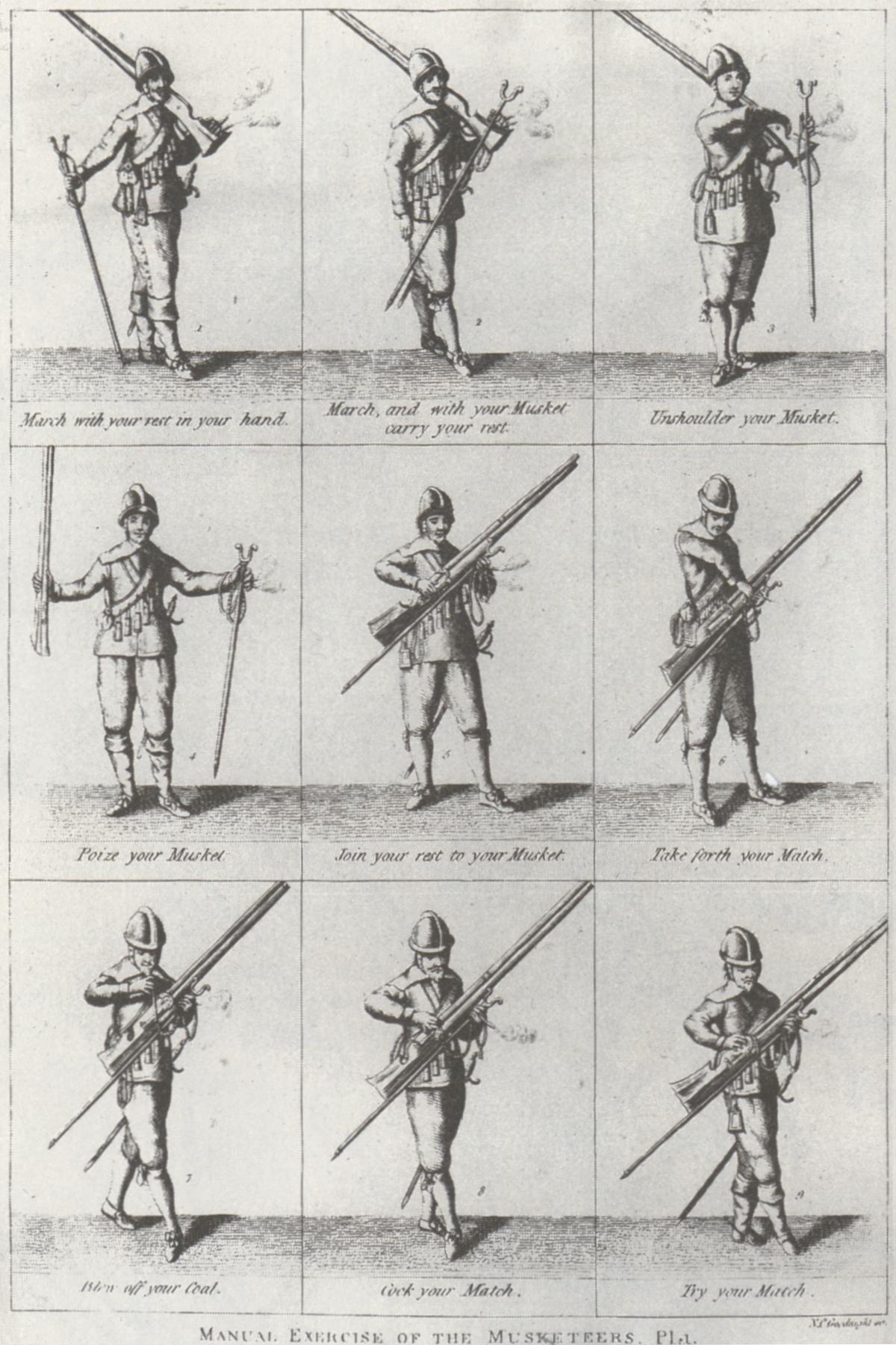 File Manual Of The Musketeer 17th Century