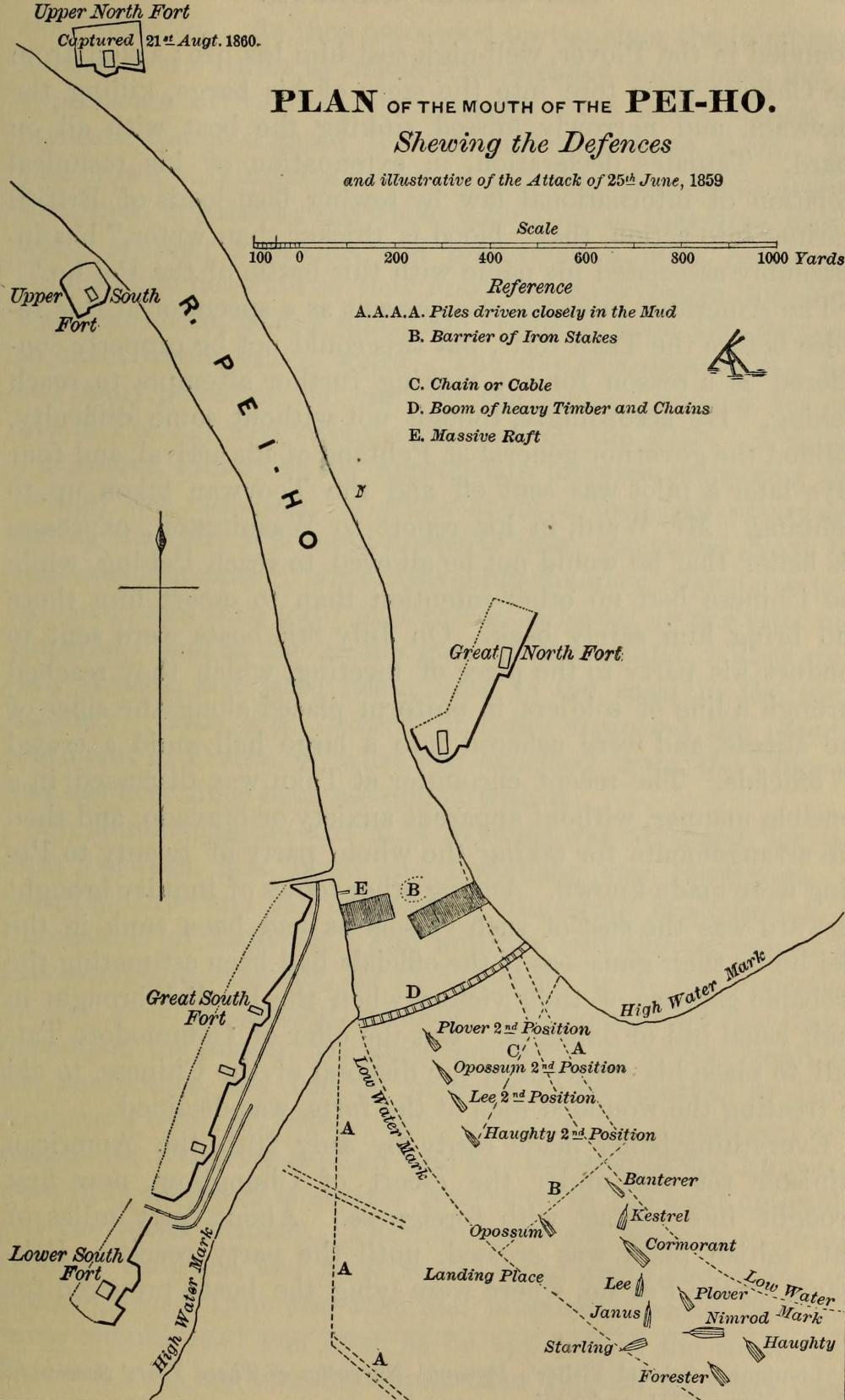 medium resolution of file plan of attack on peiho river 1859 jpg