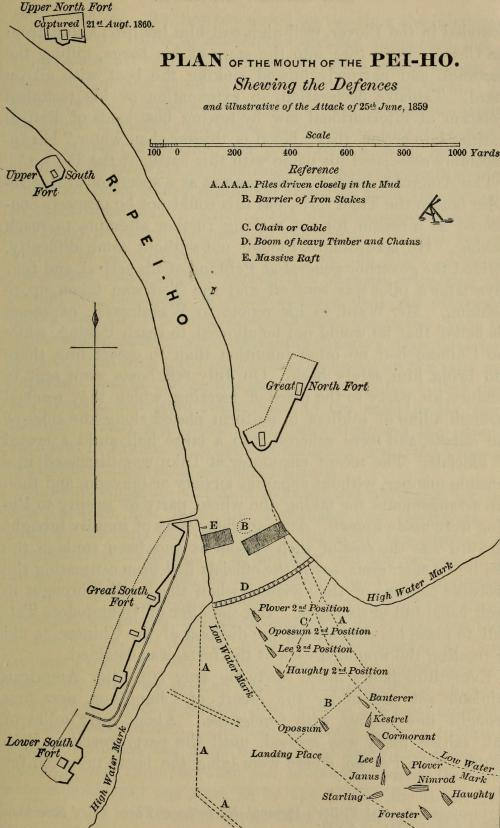 small resolution of file plan of attack on peiho river 1859 jpg