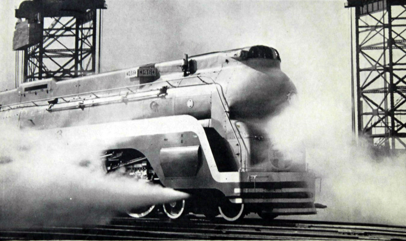 The 5 Best Looking Streamlined Steam Locomotives O