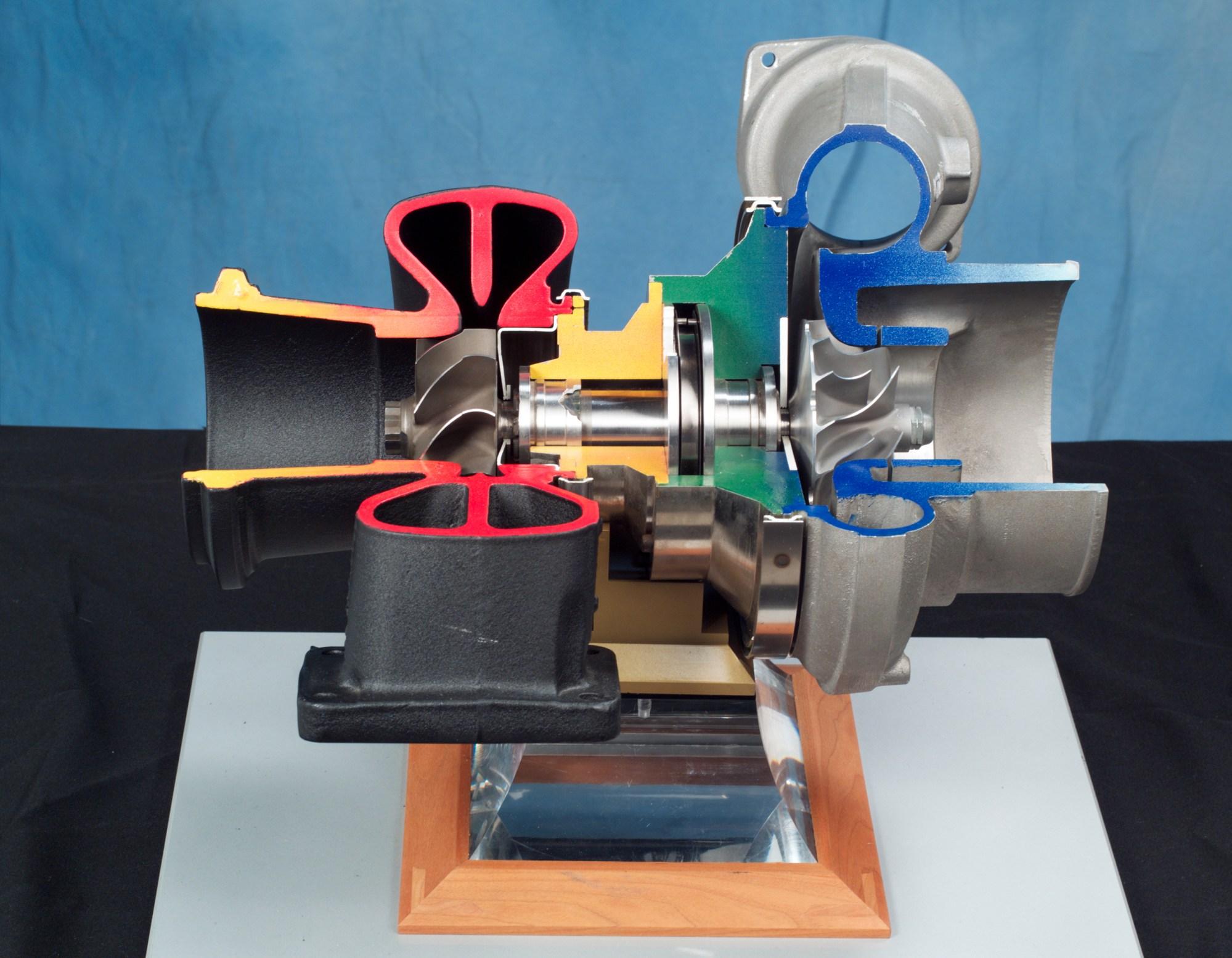 hight resolution of turbocharger