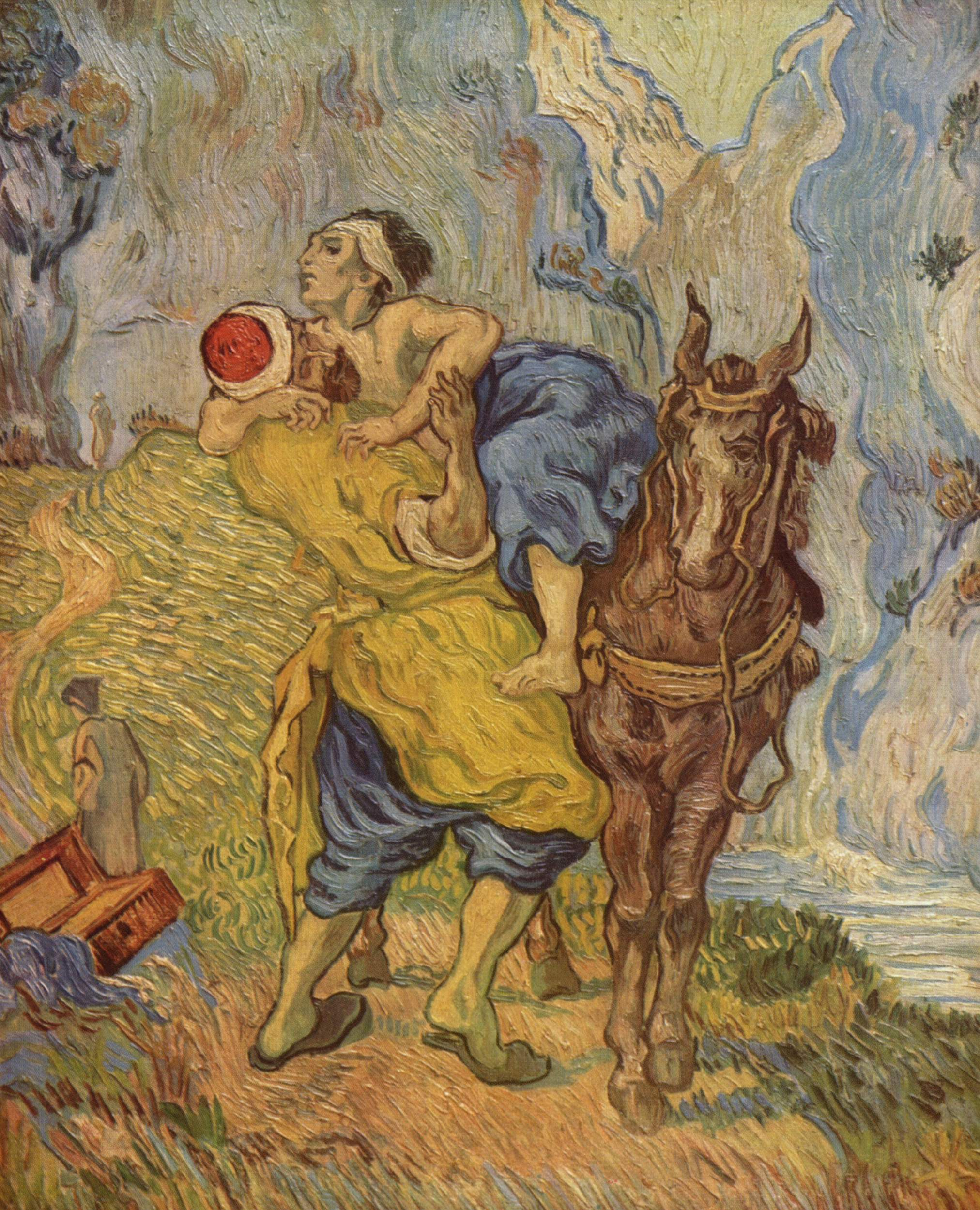Vincent van Gogh, 1890. Kröller-Müller Museum....