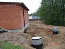 File Water And Building With Pumps
