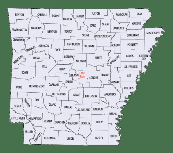 Arkansas statistical areas Wikipedia
